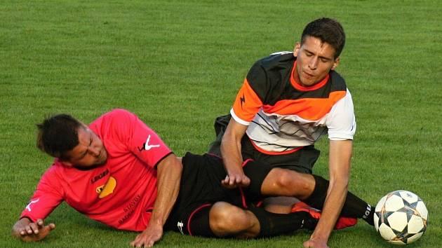 Fotbalisté Kyjova brali v první A třídě bod. Na hřišti Velké nad Veličkou remizovali 2:2.