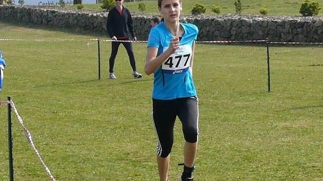 Kyjovská běžkyně Natálie Kolajová ovládla v Horažďovicích národní šampionát v krosu, trať dlouhou 1850 metrů zvládla za 5:56.