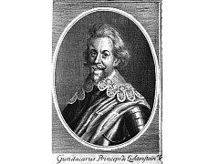 Kníže Gundakar z Liechtenštejna, který koupil ostrožské panství v roce 1625. Součástí panství byla i obec Louka.
