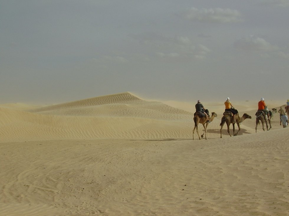 Petr Hynčica a Alexandr Valla si vyšlápli do Tuniska.