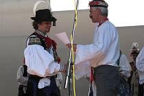 Na strážnickém festivalu svedli souboj verbíři z celého Slovácka. Nejmladšímu tanečníkovi finálového verbuňku bylo teprve sedm let.
