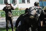 Ležení a přehlídka výzbroje a výstroje armád u příležitosti akce Kyjov - město hrdinů.