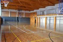 Nová sportovní hala v Dolních Bojanovicích.