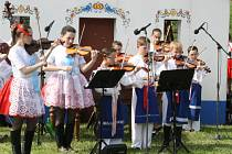 Hudební odpoledne Pod Búdama v Čejči.