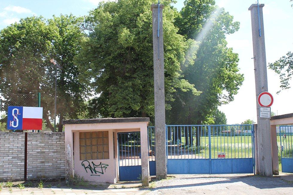 Sokolové plánují modernizovat zázemí na stadionu v Rybářích.