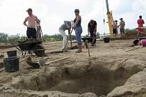 Při stavbě Kauflandu v Kyjově archeologové našli hroby germánského kmene Langobardů.