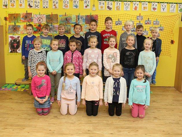 Žáci I.D ze Základní školy Vančurova vHodoníně.