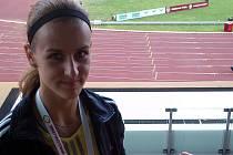 Kyjovská běžkyně Natálie Kolajová skončila v předpogramu Zlaté tretry na šestém místě.