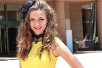 Úspěšná hodonínská zpěvačka a herečka Nicola Petrécsová v Hollywoodu.