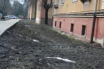 Stavební úpravy v hodonínském místní části Bažantnice.