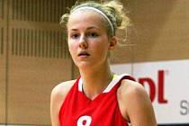 Opora Jiskry Kyjov Petra Holešinská vedla na prestižním mezinárodním turnaji ve Zlíně český výběr jako kapitánka.