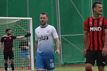Martin Holek (vpravo) by měl být velkou posilou pro hodonínskou ofenzivu.