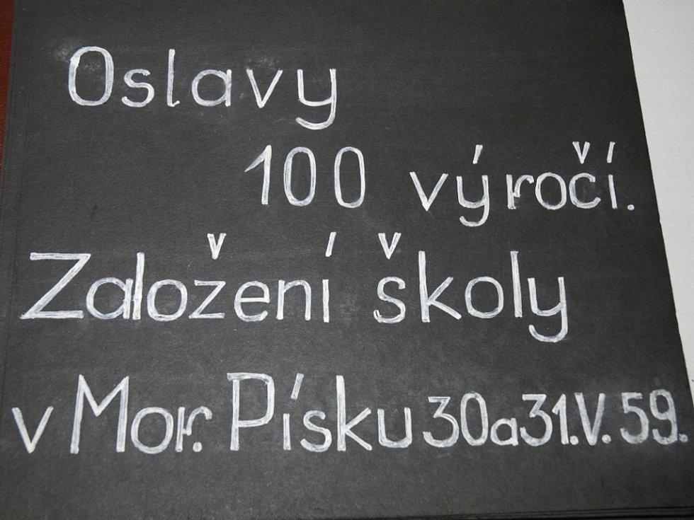 Škola v Moravském Písku slaví 150 let