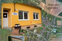 Obecní knihovna v Mutěnicích.