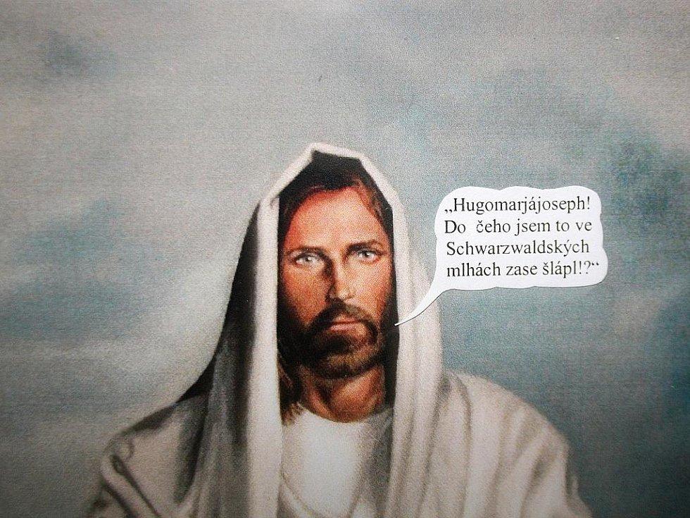 Výstava Návrat idiota II v Kyjově.