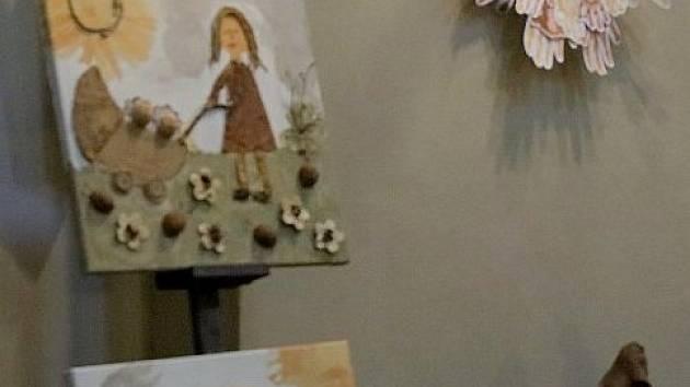 Děti z azylového domu v Kyjově vystavovaly v Praze