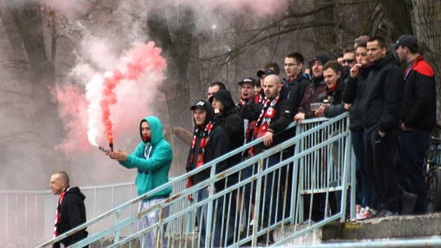 Příznivci Hodonína byli po sobotním zápase spokojení. Slovácký celek doma porazil Blansko 3:0.