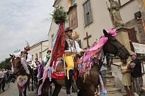 Očekávaná akce Slovácký rok na čtyři dny opanovala Kyjov. Také devatenáctý ročník nejstaršího regionálního folklorního festivalu v České republice zpestřila tradiční jízda králů v podání chasy ze Skoronic.