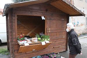 Městská tržnice v Hodoníně se otevřela poprvé v úterý. Stánky mají bývat otevřené i ve čtvrtek a v sobotu dopoledne.