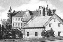 Bzenecký zámek ve své bývalé kráse