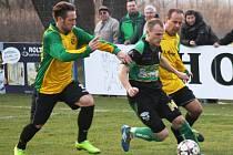 Bzenecký útočník Václav Matula, který na podzim oblékal dres Bořetic, se v prvním zápase krajského přeboru blýskl dvěma góly.