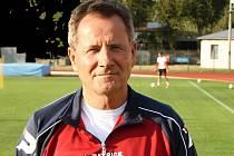 Trenér divizního Hodonína František Komňacký je s první polovinou sezony spokojený.
