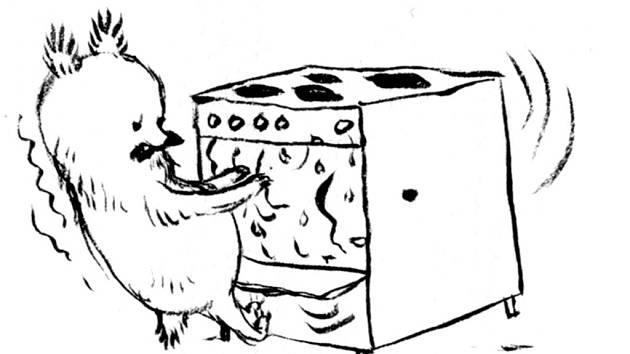 Ilustrace grafičky Alžběty Skálové.