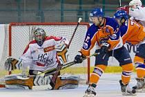 Hodonínští hokejité prohráli v prvním čtvrtfinále na ledě favorizované Poruby 0:8.