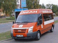 Nové doprovodné auto hovoranských hasičů.