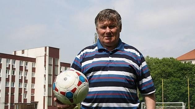 Petr Vyškovský je legendou dubňanského fotbalu.
