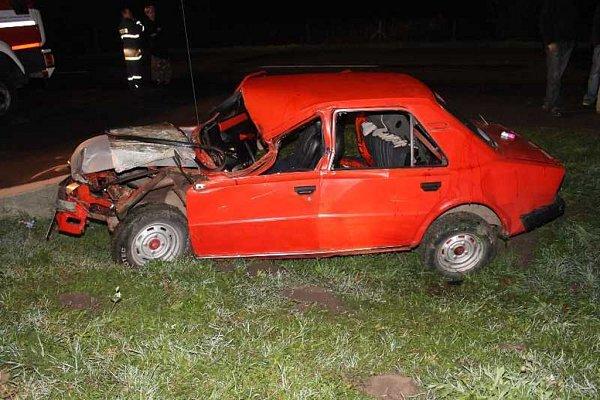 Čtyři zranění si vyžádala dopravní nehoda automobilu a koňského povozu, ke které došlo vúterý uČejče. Zranil se také kůň, který povoz táhl.