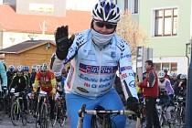 Šéfa kyjovského cyklistického oddílu CK Sokol Dacom Pharma Kyjov Vladimíra Huška (na snímku) čeká akcemi nabitý rok 2016.