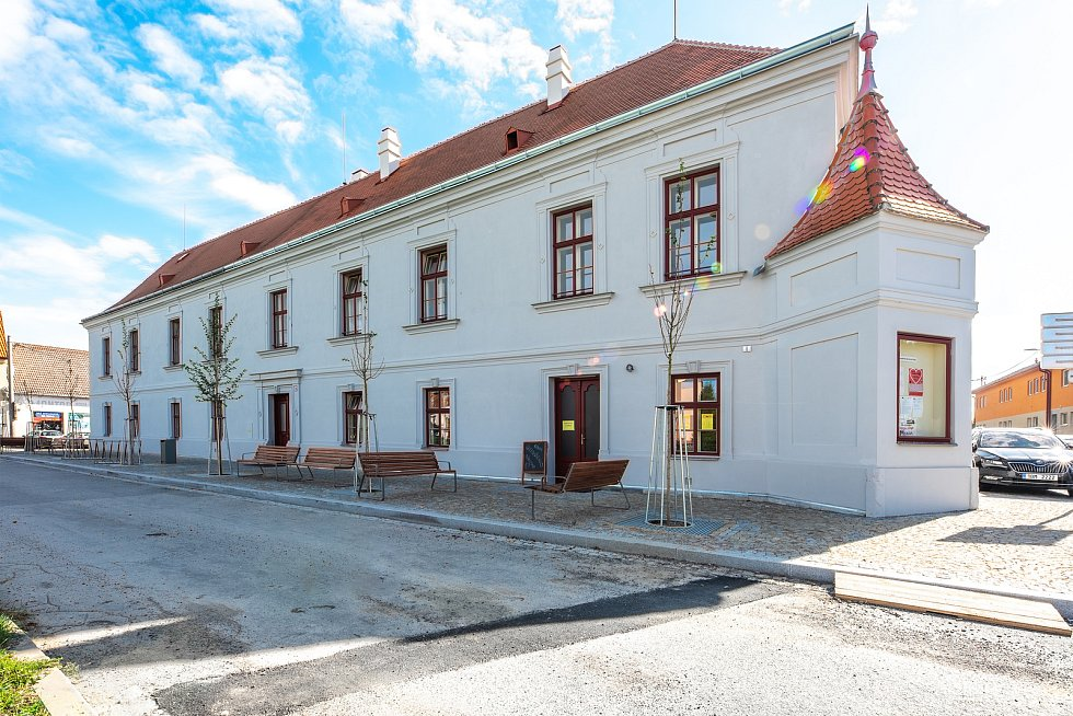Hotel Pfann v Pohořelicích na Brněnsku.