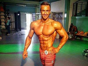 Petr Bílek - závodník v kategorii mens physique