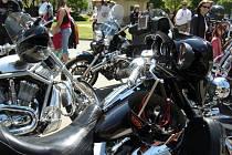 Spanilá jízda motorkářů Hodonínem