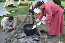 O víkendu 22. a 23. června se v mikulčickém Slovanském hradišti uskutečnily Letní slavnosti v Rasticově městě. Návštěvníci se mohli podívat, jak žili lidé na území Evropy v osmém a devátém století.