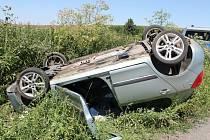 Nehoda u Čejkovic.