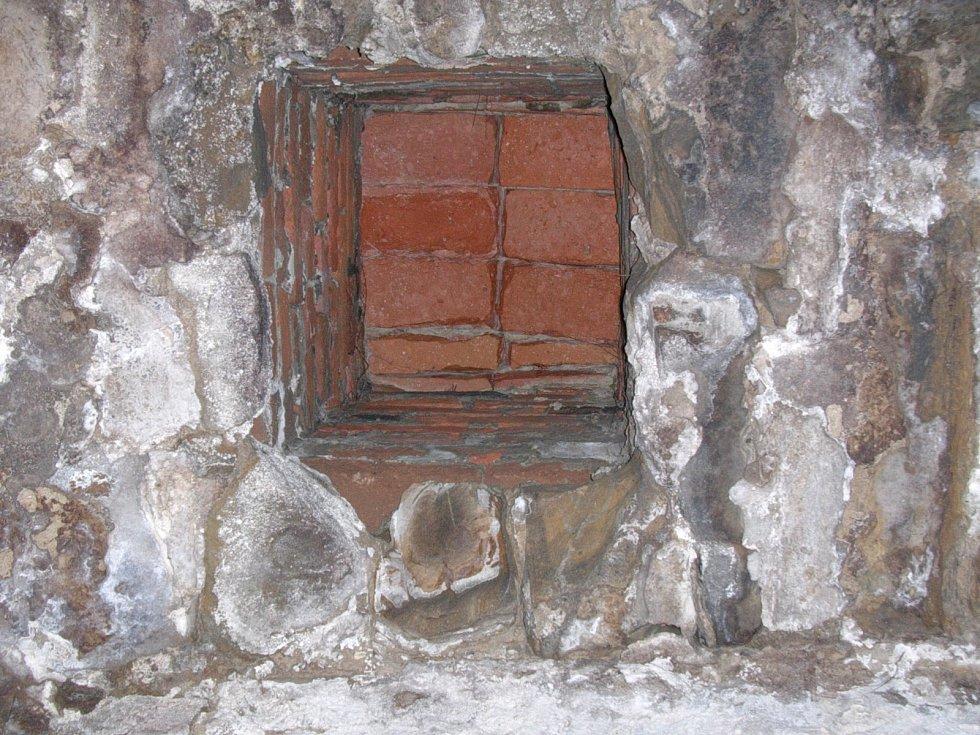 Habánský sklep ve Vacenovicích ještě před rekonstrukcí.