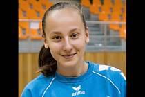 Šikovná brankářka Barbora Zichová patří mezi velké naděje hodonínské házené.