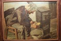 Hodonínský malíř Jaroslav Zůrek má třetí výstavu v Hodoníně.