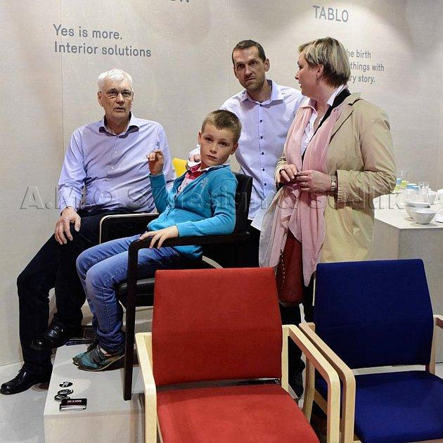 Vladimír Sádlík je obchodním ředitelem výrobce židlí značky Sádlík a také vášnivým cyklistou.