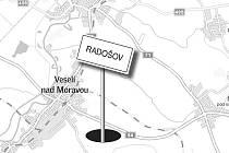 Zaniklý Radošov.