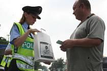 Policejní Léto za volantem u Hodonína