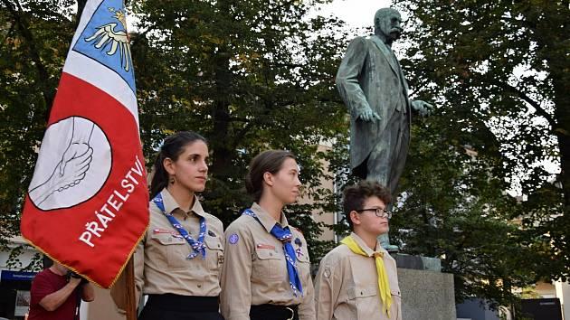 Hodonínští uctili svého nejvýznamnějšího rodáka T. G. Masaryka.