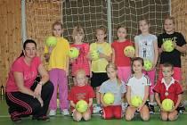 Ve Veselí vzniklo pod záštitou interligového týmu nové družstvo minižákyň.