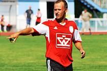Záložník Blatnice Dušan Macko (na snímku) na podzim patřil k nejlepším hráčům týmu z Veselska.