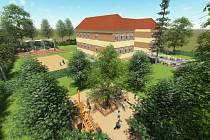 Dětské hřiště, posezení i sportoviště, vše v odkazu prvního prezidenta. V Čejči budují na školní zahradě Masarykův sen.