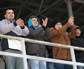 Fotbalisté Hodonína prohráli ve šlágru 17. kola divize D s Uherským Brodem 4:5 a v čele tabulky už mají pouze tříbodový náskok.