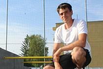 Stefan Chrenko, kyjovský trenér parkouru i pohybové školičky.