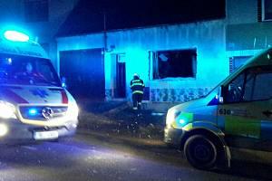 Výbuch se v pátek kolem sedmé hodiny večer ozval v kopcích Bílých Karpat. V horňáckém Suchově se zatřásl jeden z domů.